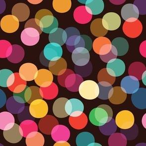 Rainbow Bokeh Lights - medium