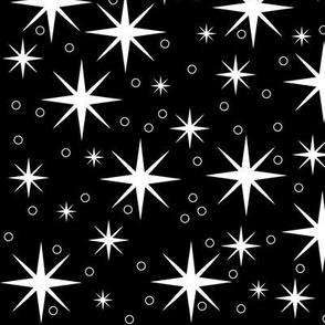 Stardust - white/black