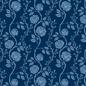 Classic Blue Rose Garlands