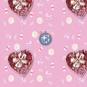 Grunge Valentine Roller Party