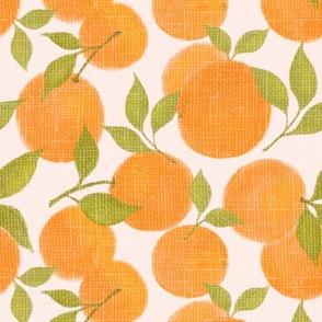 Linen Oranges