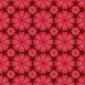 Flower Tile (red)