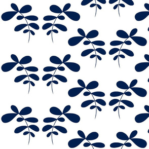 The Shapes of Nature 5M blue & white