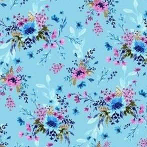 Giacinta Spring Blossom -  Sky Blue