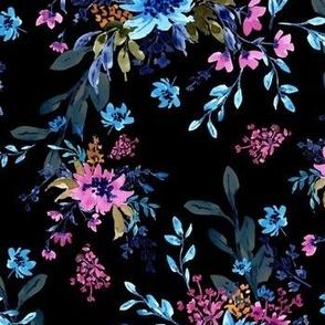 Giacinta Spring Blossom - Black