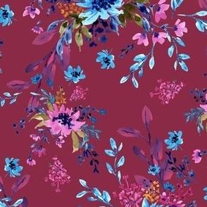 Giacinta Spring Blossom - Crimson