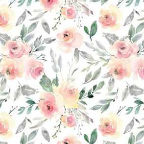 Watercolor Floral – Pink + Blush Flowers