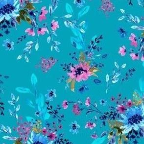 Giacinta Spring Blossom - Teal