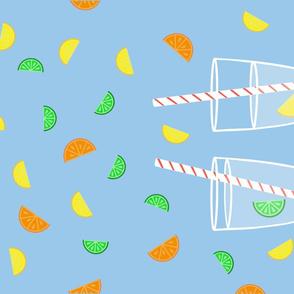 Citrus Tea Towel