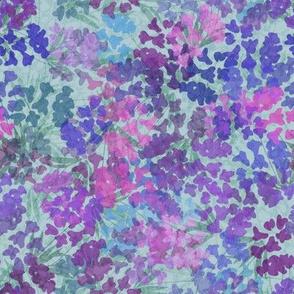 Sage and Purple Mini Floral