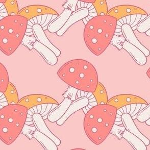 Mushroom Chain Pattern