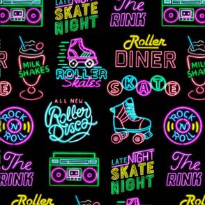 Neon Roller Rink