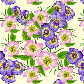 Wildflowers Pink & Purple