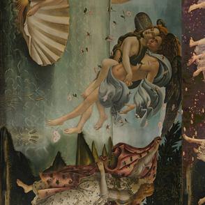 Botticelli Birth of Venus and Primavera Large