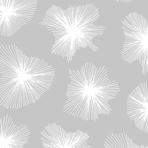 Crystal jelly magic universe minimal mod design spring summer soft gray white neutral nursery