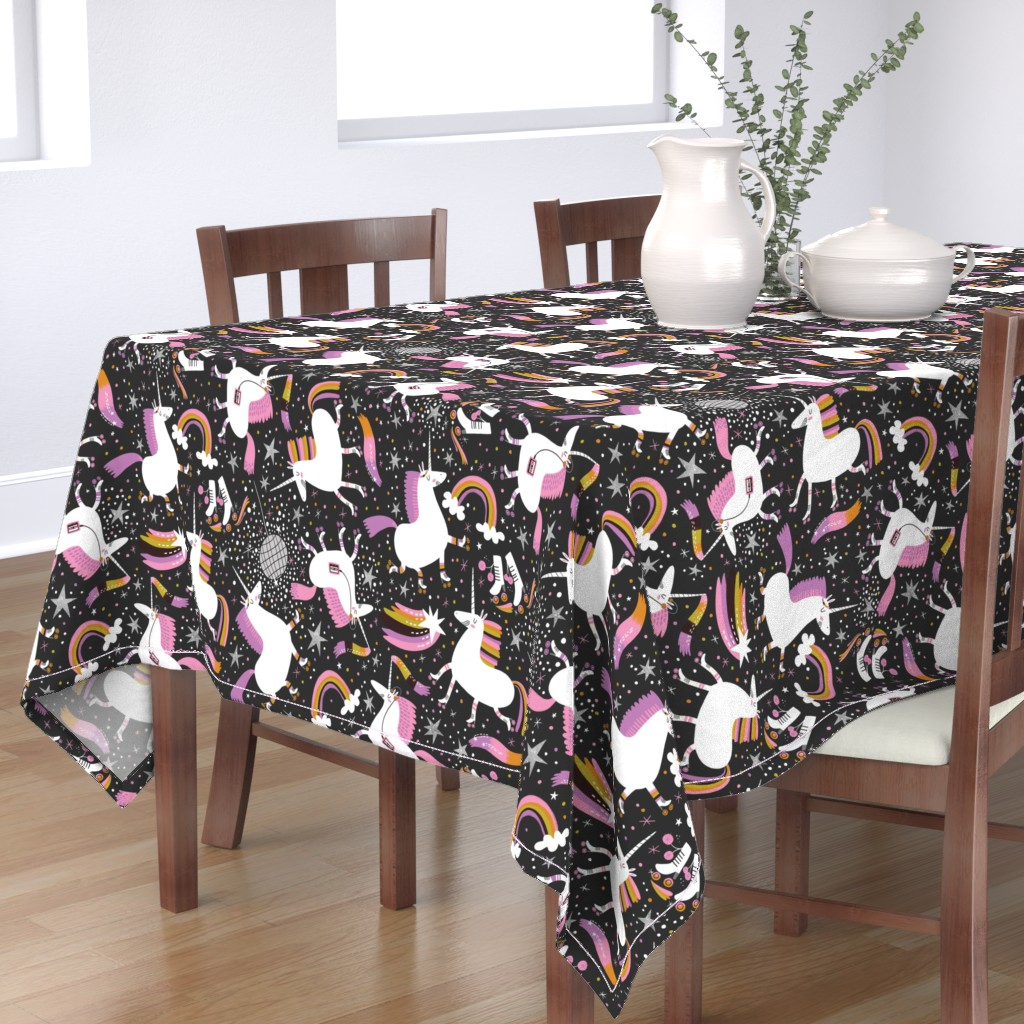 Bantam Rectangular Tablecloth featuring That's How We Roll by cynthiafrenette