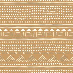 Minimal boho linen mudcloth bohemian mayan abstract indian summer love aztec design caramel