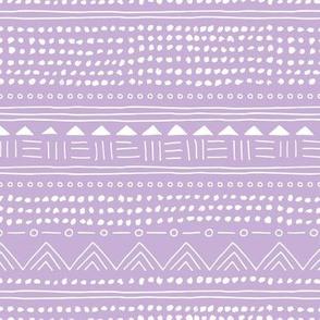 Minimal linen mudcloth bohemian mayan abstract indian summer love aztec design lilac lavender purple