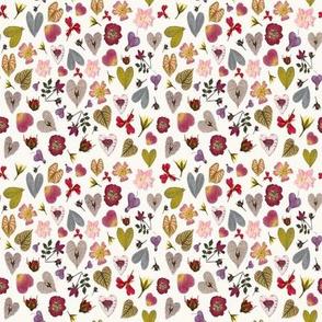 Botanica Hearts Micro Modern Quilt