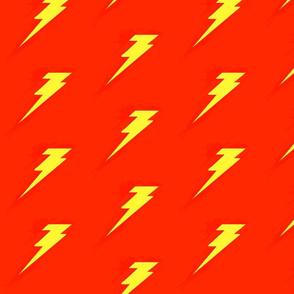 lightening bolt (red&yellow)