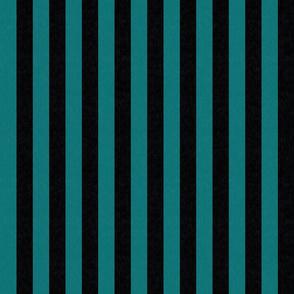 Teal & Black Stripes w/ Texture Effect