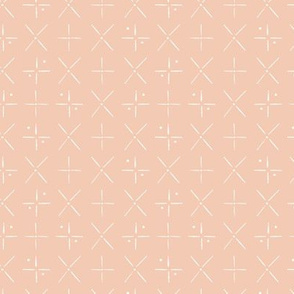 X Marks the Spot in Blush
