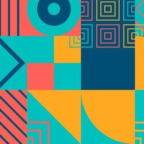 Bauhaus block party bright small