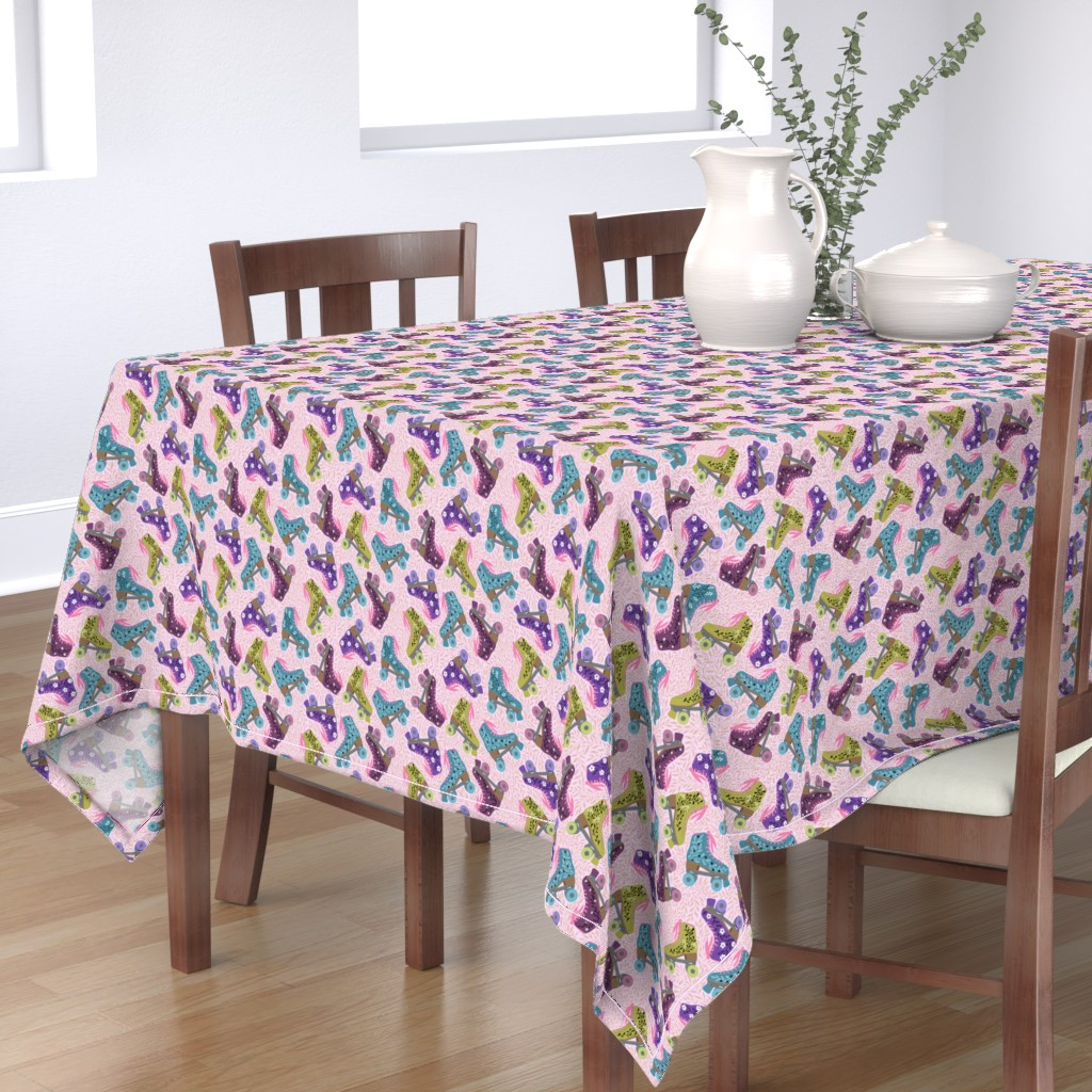 Bantam Rectangular Tablecloth featuring rollers by gaiamarfurt