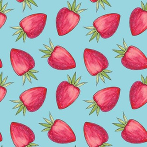 Summer Strawberry - Blue