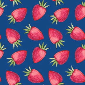 Summer Strawberry - Classic Blue