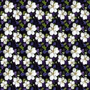 quilt square tiny magnolias