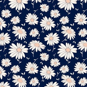 Sweet Daisy in Navy