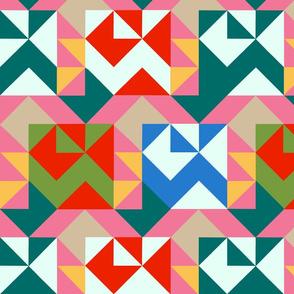 Aztecza Quilt Large Coordinate
