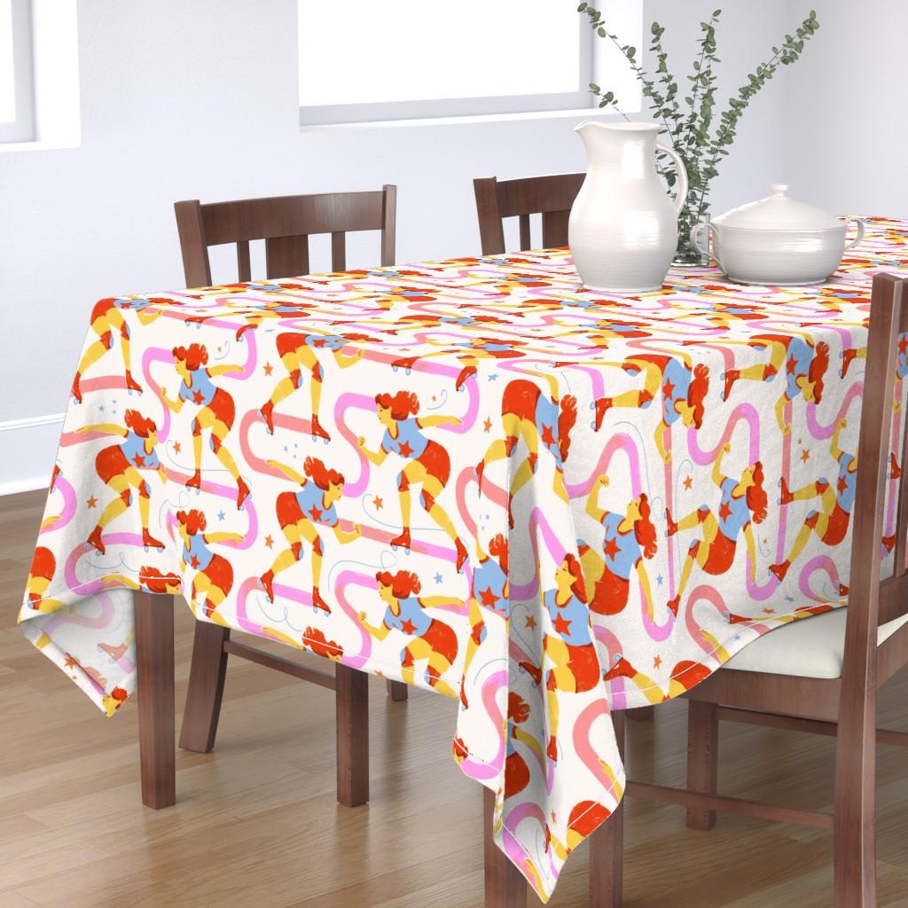 Bantam Rectangular Tablecloth featuring Star Power by allierunnion