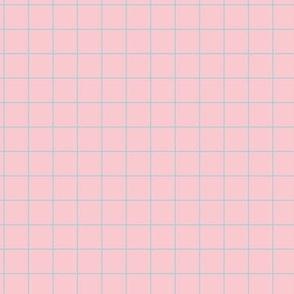 Smaller Scale - Citymap Grid - Pink/Blue