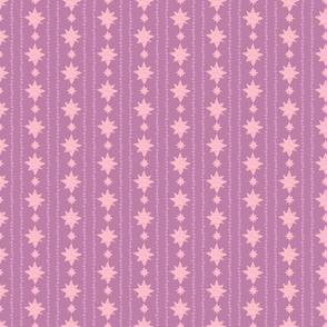 Pink and Purple Stars