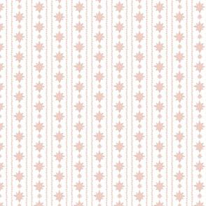 Stars Pink Boho Pattern