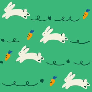 rabbits-green-large scale