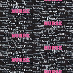 Nurse Describing Words Black