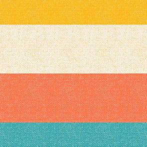 Deckchair woven bold stripe