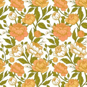 Chintz floral- small