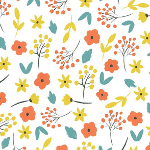 Spring Bright Tiny Florals