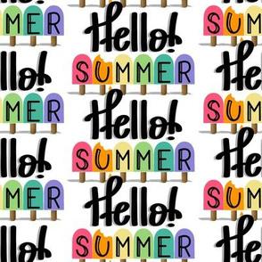 Hello Summer-Popsicles Light