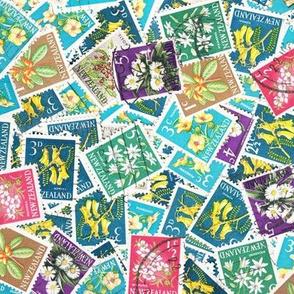 NZ Stamps - flora - large