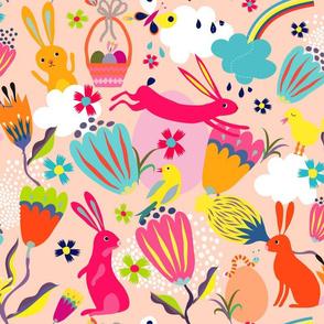 happy bunny spring
