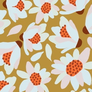 Chunky floral large