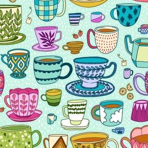 tea time - mint
