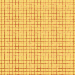 Yellow and red checkered pattern
