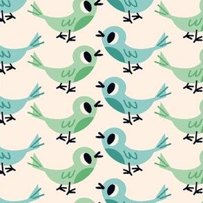 Rainy Day Birds