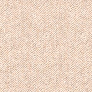 faux tweedy pale copper herringbone tweed